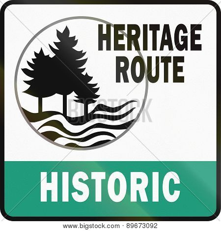 Michigan Historic Heritage Route