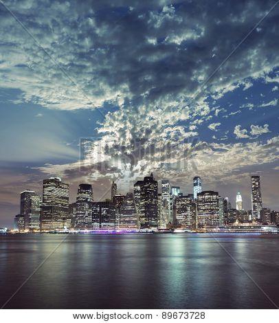 New York City Manhattan view