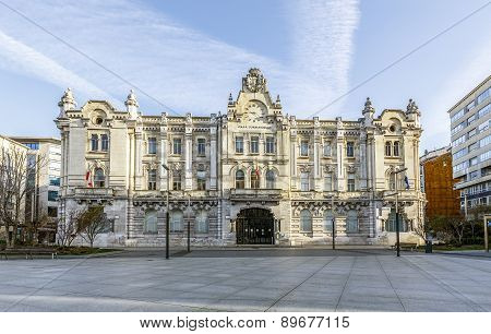 City Hall Of Santander, Spain