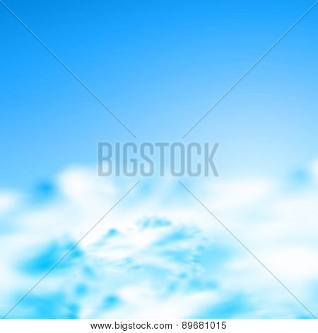 sunny natural background, easy editable