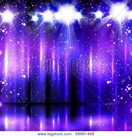light party background, easy all editable
