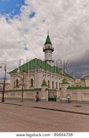 Al-marjani Mosque (1770) In Kazan City, Russia