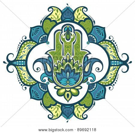 Decorative hamsa