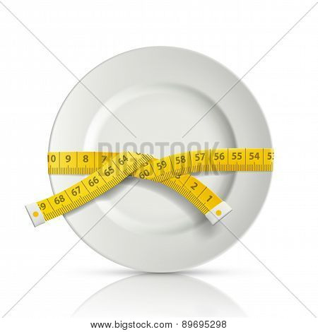 Tailor Centimeter Around The Plate