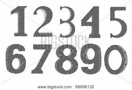 Decorative Numerals