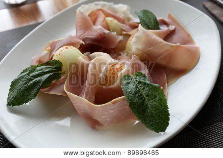Melon And Parma Ham