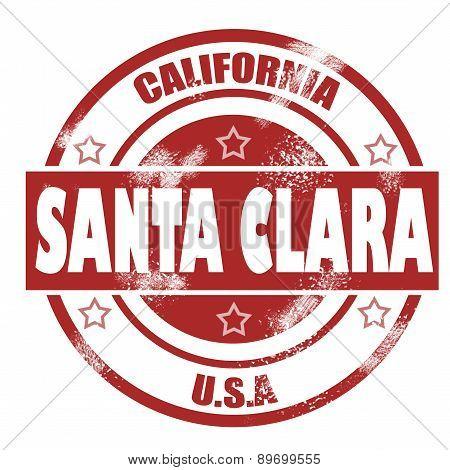 Santa Clara Stamp
