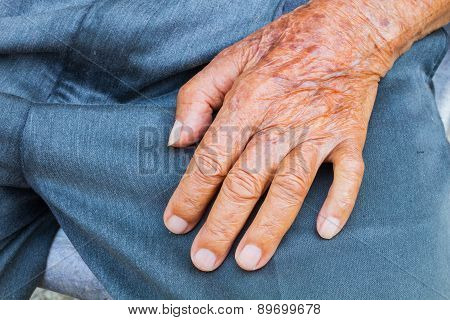Elderly Male Hand
