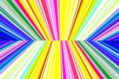 picture of kinetic  - abstract background with colorful vertical lines perspective with radial blur - JPG