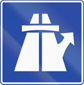 picture of traffic rules  - Chilean traffic sign  - JPG