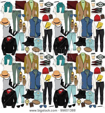 Fashion illustration.