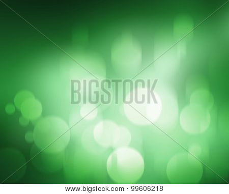 green blur abstract background