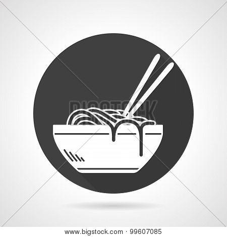 Flat icon Noodles