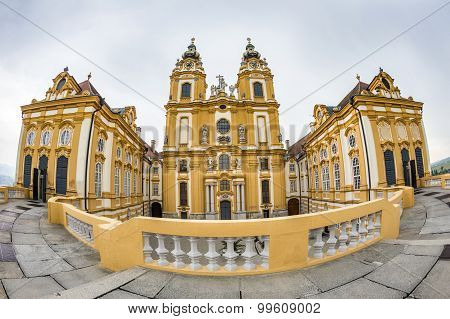 Baroque Melk Abbey Benedictine Monastery
