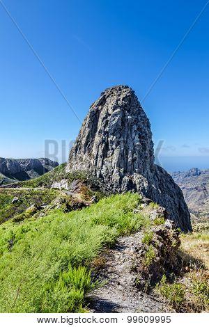 Monumento Natural de los Roques at La Gomera, Canary islands, Spain.