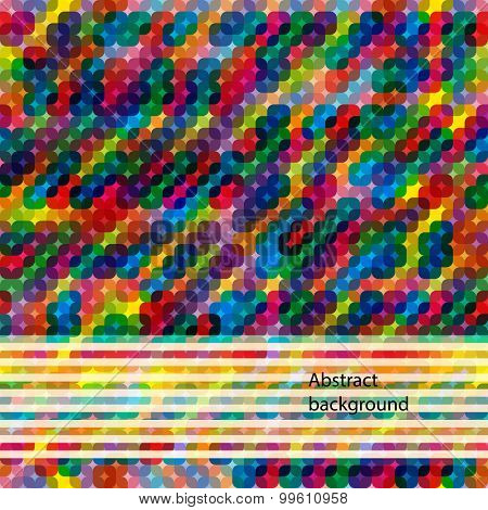 Multi color abstract bright background with squares. Elements for design. Eps10.