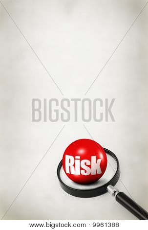 Risk Concept On Abstract Background