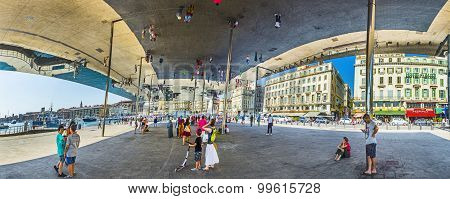 Norman Foster's Pavilion   In Marseille
