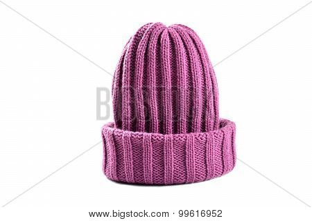 Purple Woolly Hat