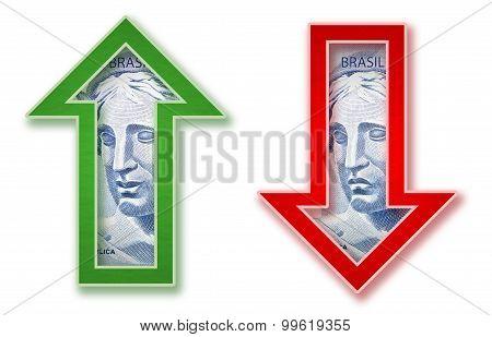 Brazilian Money arrow