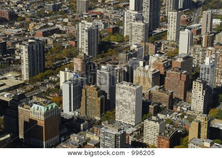 Aerial City View