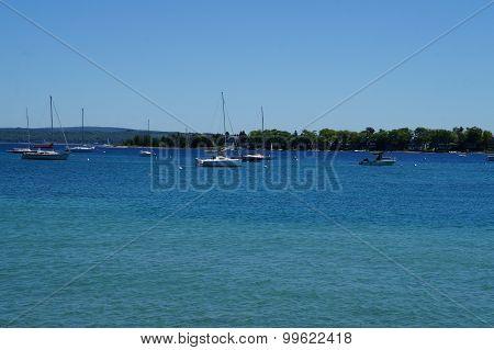 Harbor Springs Yacht Basin.