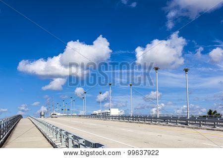 Bascule Bridge Over Stranahan River In Fort Lauderdale