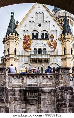 Neuschwanstein Castle, built 1869-1886 - Bavaria, Germany