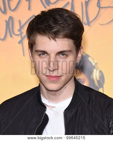 LOS ANGELES - AUG 20:  Nolan Funk arrives to the