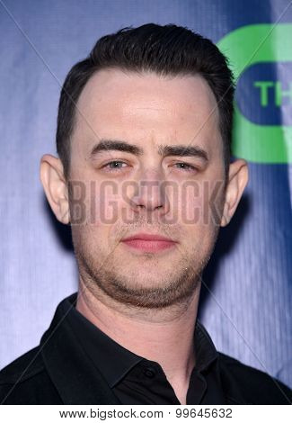 LOS ANGELES - AUG 10:  Colin Hanks arrives to the Summer 2015 TCA's - CBS, The CW & Showtime  on August 10, 2015 in West Hollywood, CA
