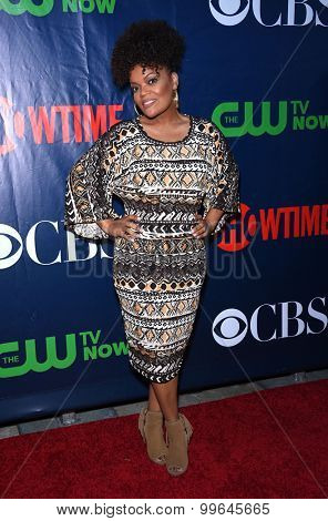 LOS ANGELES - AUG 10:  Yvette Nicole Brown arrives to the Summer 2015 TCA's - CBS, The CW & Showtime  on August 10, 2015 in West Hollywood, CA