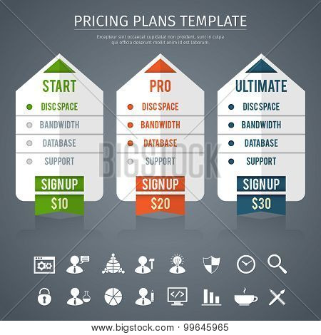 Pricing Plan Template