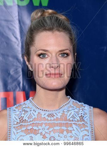 LOS ANGELES - AUG 10:  Maggie Lawson arrives to the Summer 2015 TCA's - CBS, The CW & Showtime  on August 10, 2015 in West Hollywood, CA