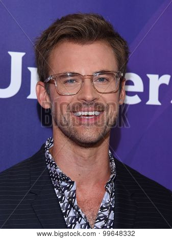 LOS ANGELES - AUG 12:  Brad Goreski arrives to the arrives to the Summer 2015 TCA's - NBCUniversal  on August 12, 2015 in Beverly Hills, CA