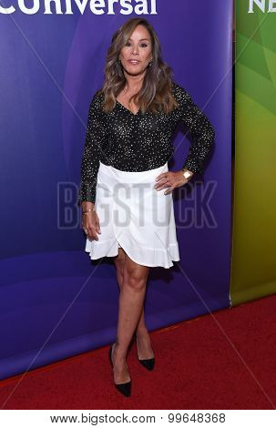 LOS ANGELES - AUG 12:  Melissa Rivers arrives to the arrives to the Summer 2015 TCA's - NBCUniversal  on August 12, 2015 in Beverly Hills, CA