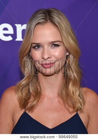 LOS ANGELES - AUG 12:  Marissa Hermer arrives to the arrives to the Summer 2015 TCA's - NBCUniversal  on August 12, 2015 in Beverly Hills, CA
