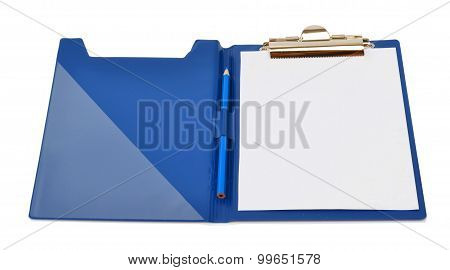 Folder Isolated On White