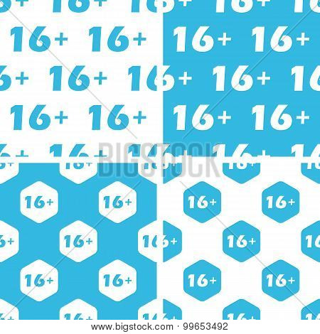 16 plus patterns set