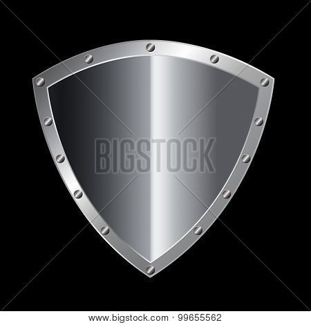 Silver Riveted Shield.