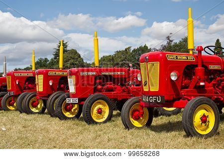 Tractor lineup