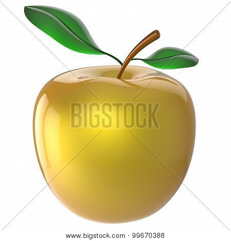 Apple Nutrition Fruit Yellow Golden Antioxidant Fresh Ripe