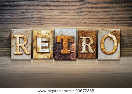 Retro Concept Letterpress Theme