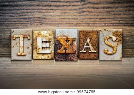 Texas Concept Letterpress Theme