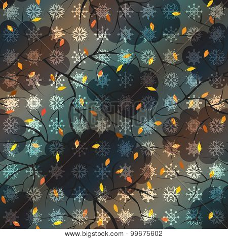 Autumn pattern.