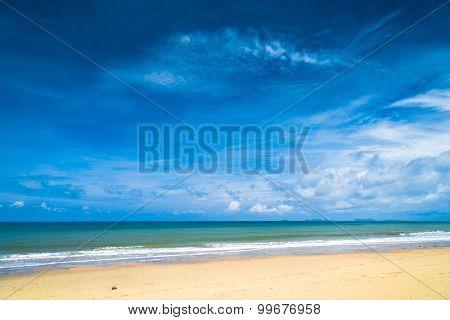 Divine Coastline In a Sunny Paradise