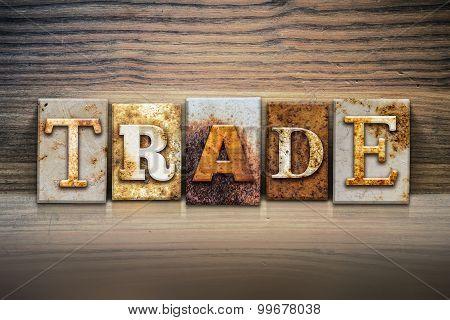 Trade Concept Letterpress Theme