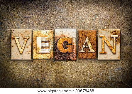 Vegan Concept Letterpress Leather Theme