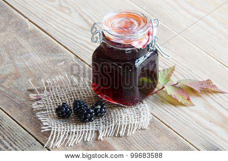 Homemade Bramble Jelly