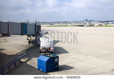 Tanker Waiting