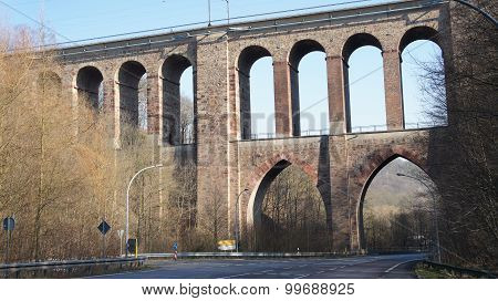 Viaduct of the railway